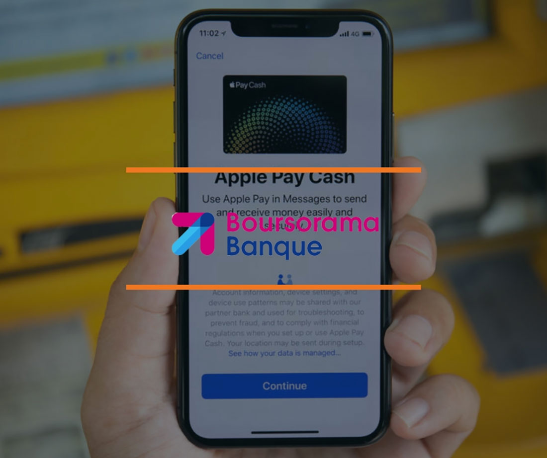 boursorama apple pay