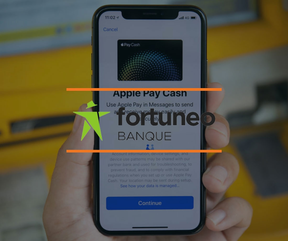 fortuneo apple pay