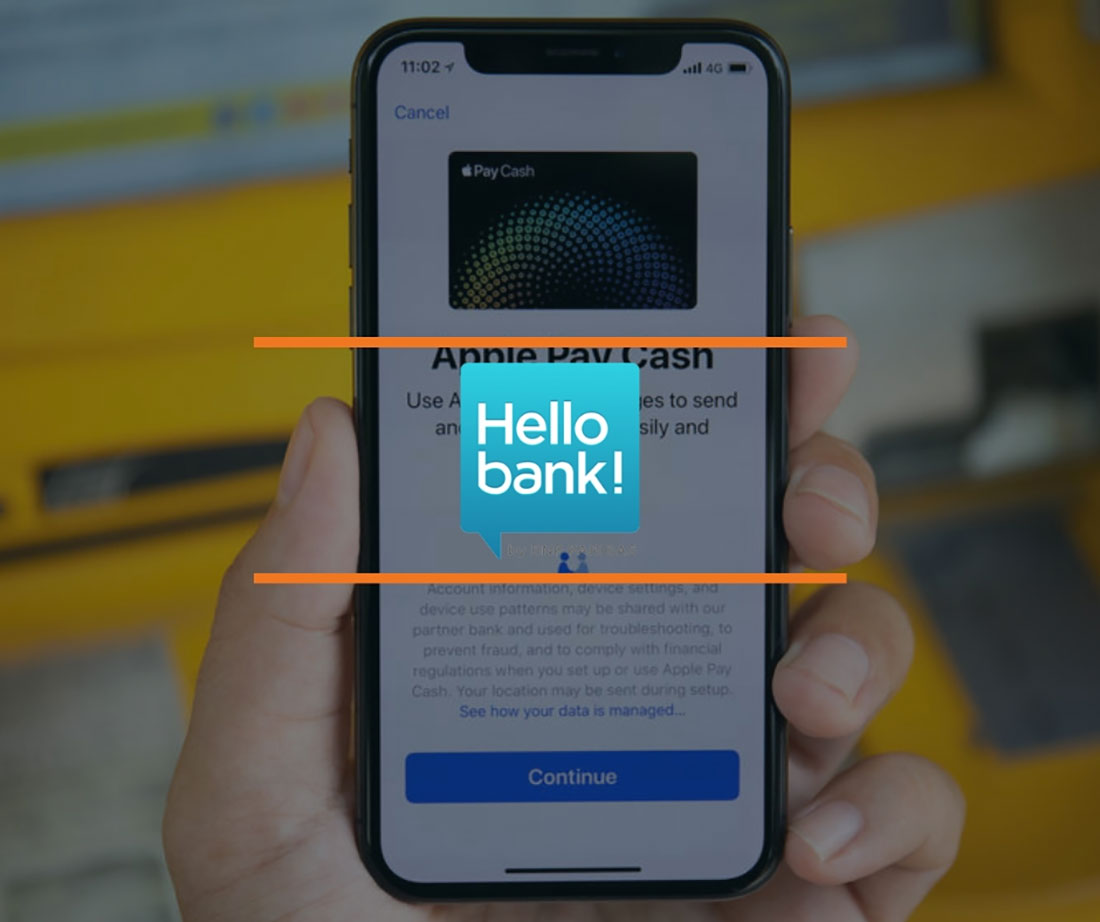 hellobank apple pay