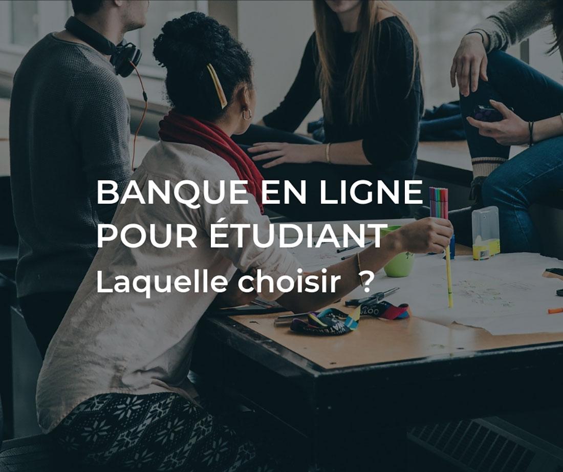 banque en ligne étudiant