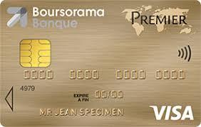 carte visa premier gratuite boursorama