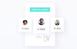 dépôt capital en ligne qonto